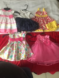 Dresses for girls $20.00 for all or $5.00 each. Los Angeles, 90011