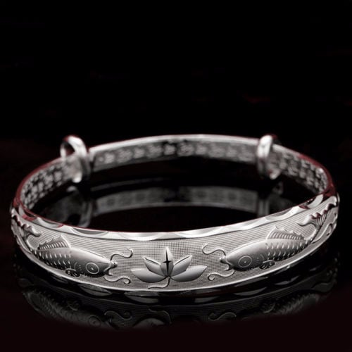 925 Silver Sterling Bangle