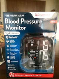 New Blood pressure monitor $80 store value