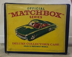 Matchbox Deluxe Collector's Case plus 52 Matchbox and Hot Wheels