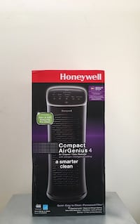 Brand New Honeywell Compact AirGenius 4 Air Cleaner & Odor Reducer Allergy Pollen Mold Dust Smoke 171 mi