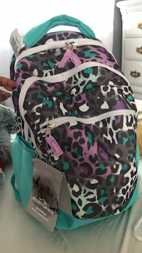 black, green, and pink camouflage backpack Silver Spring, 20902