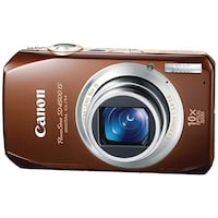 Canon PowerShot SD4500 IS 10 MP CMOS 10x Optical Image Stabilized Zoom with Full-HD Video and 3.0-Inch LCD Digital Camera Kent, 44240