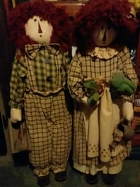 Standing raggedy ann and  andy h Christiansburg, 24073