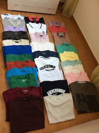 MENS ERKEK FRED PERRYS AND T SHIRTS LIKE NEW YENI LARGE BEDEN L Alanya, 07400