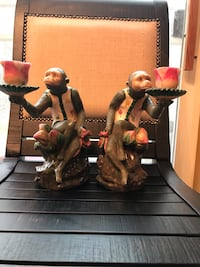 Monkey candlesticks Maple Grove
