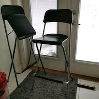 2 High stools for sale $8 altogether Vancouver, V5M 1X8