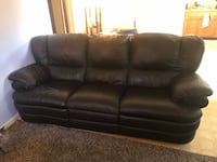 GREAT Leather Recliner Couch Englewood, 80113