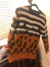 Sandro Wool Panther Sweater Toronto, M2N 7M1