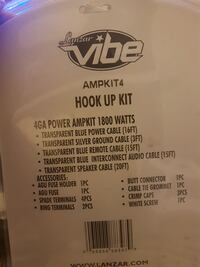 Lanzar Vibe Hook up kit Whitby, L1N 0C3