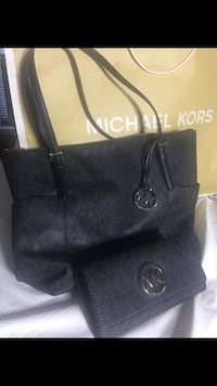 Michael Kors leather bag with wallet Sandy Springs, 30350