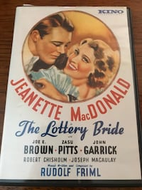 The Lottery Bride DVD - black and white 1930 - Jeanette MacDonald, Joe E Brown, Zasu Pitts, John Garrick, Robert Chisholm, And Joseph Macaulay Nottingham, 21236