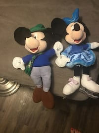 Mickey Mouse and Minnie Mouse plush toys Fort Worth, 76132