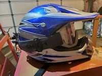 Kids helmet and goggles