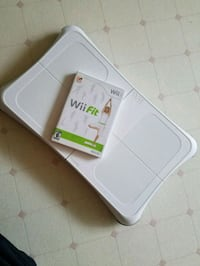 Wii Fit Board and Wii Fit game Gate City