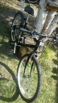 Black and Gray hardtail mountain bike Red Deer, T4P 2G4