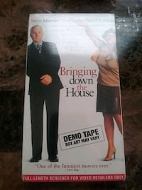 Bringing down the house VHS movie Yonkers, 10701