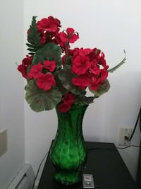 Real Hoosier vase and florals from Joann fab Enfield, 06082