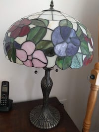 Lamps Plus Rose Pattern Tiffany-Style Table Lamp Rockville