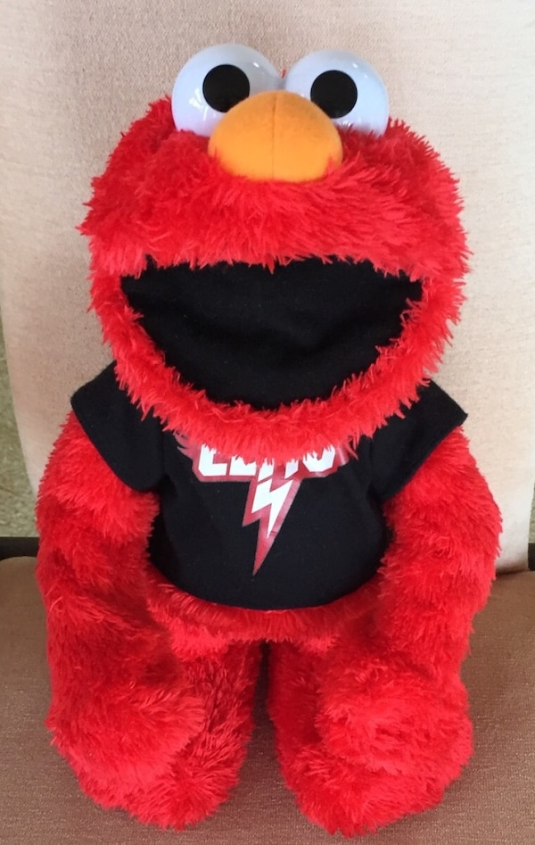 730ffa6d6a755 Used Red yellow white and black elmo plush toy for sale in Bradenton ...