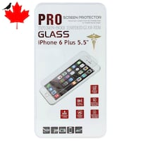 New Tampered Glass Screen Protector for iPhone 6, 6S,7,8 and Plus Regina