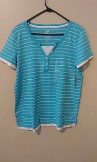 4 Women's Casual Striped T-Shirts Montgomery