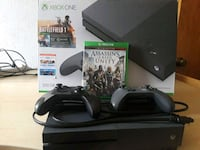 black Xbox One console with controller and game ca Denver, 80239