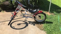 black and red BMX bike Raleigh, 27610