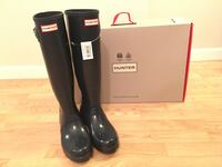 Women's Hunter Boots - Tall Glossy Size 8 - Navy - New San Diego, 92122