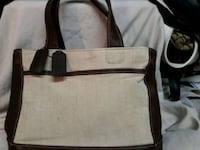 brown and white tote bag Akron, 44312