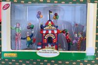 Lemax Retired Circus Set - Ticket Booth & Figures Des Moines, 50313
