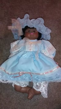 African American doll 14 inch collectible Perris, 92570