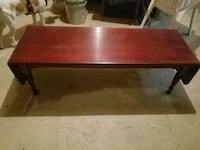 Rare Mohogany bench/coffee table with extenders 350$ or best offer Dale City, 22193