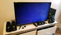 Tcl roku tv with 5.1 logitech speakers  Bronx, 10458