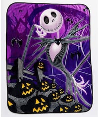 NEW Jack Skellington Blanket The Nightmare Before Christmas Moreno Valley, 92557