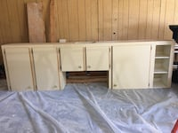 white wooden cabinet with mirror Jacksonville, 32225