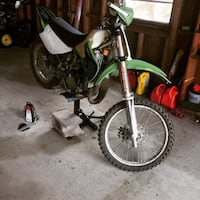 trade for 125 or 150, 2004 kx100 with upgrades and rebuilt carburetor+new tires