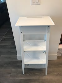 White Metal TV Stand Vancouver, V5S 4R7
