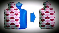 Flannel cover for Hot Water Bottle - Brand New Calgary, T2C 2Z8