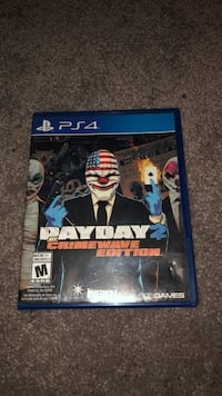 PS4 Payday 2  Abbotsford, V2S 1V4