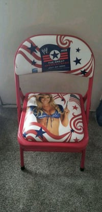 WWE WWF wrestling event chair the great American  Toronto, M3A 2R5