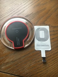 clear and black wireless charger West Palm Beach, 33411