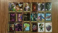 Legend of Zelda base trading cards 2016 Toronto, M1H