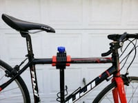 black and red hardtail mountain bike Los Angeles, 91331