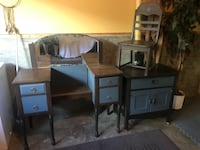 Antique vanity/chair/washstand  price each or all for $240 firm  Edmonton, T6K 1V1