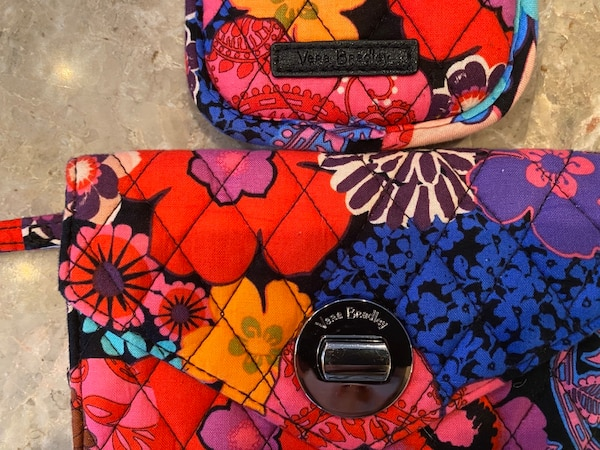 Vera Bradley Wallet & Glasses Case 1