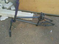 black and blue bicycle frame Mesa, 85207