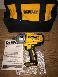 "Dewalt 20 Volt XR Brushless 1/2"" High Torque Impact Wrench Markham, L3P 6N3"