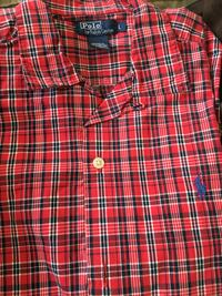 Polo By Ralph Lauren plaid short sleeve shirt Burnaby, V5G 1G1