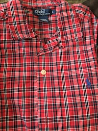 Polo By Ralph Lauren plaid short sleeve shirt